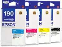 Mực in Epson T190 Black Ink Cartridge