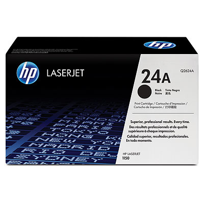 Mực in HP 24A Black LaserJet Toner Cartridge (Q2624A)