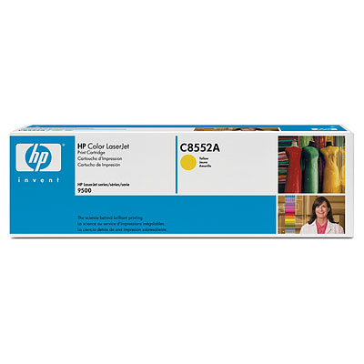 Mực in HP Color LaserJet C8552A Yellow Print Cartridge (C8552A)