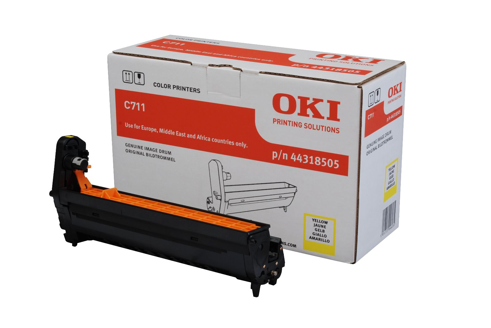 Oki C711 Yellow Drum Unit