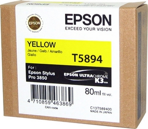 Mực in EPSON T589400 YELLOW INK CARTRIDGE (C13T589400)