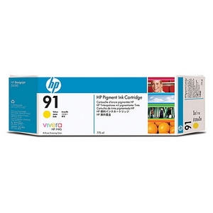 Mực in HP 91 775-ml Pigment Yellow Ink Cartridge (C9469A)